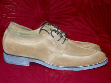 BNIB MENS SAND SUEDE YESTERYEAR HUSH PUPPIES LACE UP SHOES FROM THE1958 RANGE