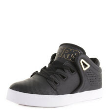 Mens Osiris D3V Black Gold White Lace Up Skate Trainers Shoes Size