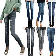 2015 New Sexy Women Jeans Skinny Jeggings Stretchy Slim Leggings Skinny Pants