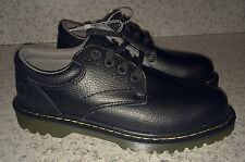 NEW Mens Sz US 9 DR MARTENS Ashfeld Black Oxford Lace Leather Casual Shoes UK 8