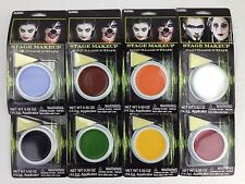 Costume Face Paint Stage Makeup w/ Applicator - Zombie Halloween Party Witch