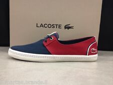 LACOSTE Mens Boat Shoes Moccasin Low Trainers Sneakers BARDOS 5 - New In Box
