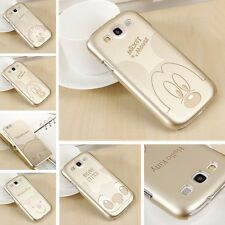Ultra Thin Gold Cartoon Hard Plastic Skin Case Cover for Samsung Galaxy S5 Note4