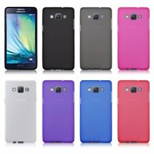 Flexible TPU Silicon Rubber Thin Fitted Case Cover For Samsung Galaxy A3/A5/A7