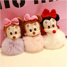 Mickey Mouse Fur Ball 3.5mm Anti-Dust Ear Cap Plug for Smart Phone(buy 2get1free