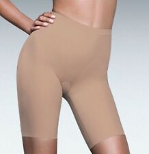 NEW Womens S L XL FLEXEES MAIDENFORM Nude Med Control Thigh Slimmer Shapewear