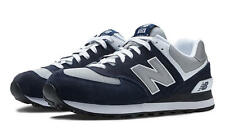 New Balance M574BGS:NB Classic 574 NAVY/Grey Casual Running/Walking Sneakers MEN