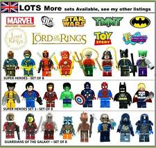 New Lego figure & Custom Minifigure Sets Star Wars Batman Hero mini figures PICK