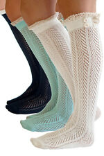 The Original Button Boot Socks with Lace Trim by Boutique Socks