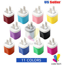 3 Pack USB Power Adapter AC Wall Charger US Plug for iPhone iPod Samsung