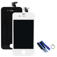 White /Black Front LCD Touch Digitizer Assembly Fit For iPhone 4 GSM or Tools