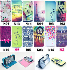 Smile High wallet Card Holder Leather case for Samsung Galaxy A7 SM-A7000 A7000
