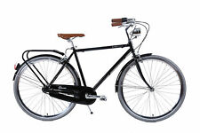 NIXEYCLES - Classic Mens Gents Vintage Retro Bicycle - With Pump and Lock
