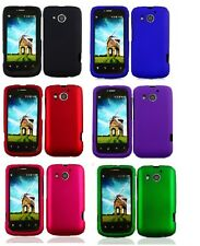 FOR Huawei Vision II 2 HARD Rubberized Snap On CASE Protector Cover