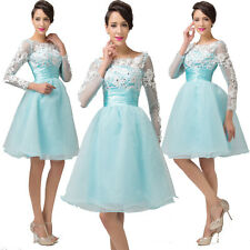 Vintage Style 1950s 60s Retro Lace Formal Bridesmaid Party Evening Prom Dresses