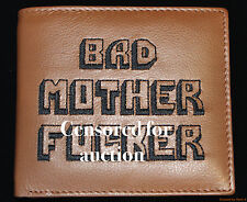 """THE 'ULTIMATE' BAD MOTHER F***** WALLET (EMBROIDERED) """"AS SEEN IN PULP FICTION"""""""