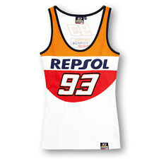 Marc Marquez 93 Honda Repsol Moto GP Womens Tank Top Official 2016