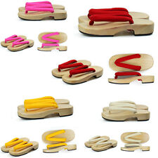 New Japanese clogs women with flat sandals slippers Casual Slippers 4 color