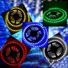 3528 5050 SMD 300 LEDS LED Strip Ribbon Tape Roll 5 Colors Light Party 12V 5M DC