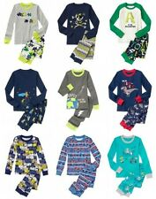 NWT Gymboree Boy Pajamas 2pc Set Pirate Super Hero Dog Knight Dragon Bear