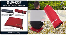 New AMAZING Hi-TEC Outdoor Self Inflating Pillow with Carry Bag Camping Festival
