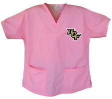 UCF Knights Pink Scrubs Tops SHIRT Cute Gifts for Her Ladies Women Nurs