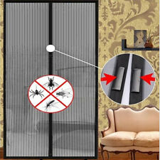 SH CA Mesh Insect Fly Bug Mosquito Door Curtain Net Netting Mesh Screen Magnets