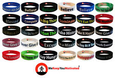 Motivational Wristbands Ionic Tourmaline Band Sports Bracelet Balance ION Power