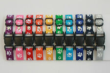 Set of 10 Puppy Whelping ID Collars Paw Dog Breeding Bands for your Kit Box