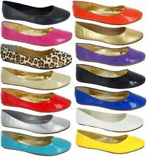 Asked grandes tailles Plat Ballet Ballerine Pompes plaine Mesdames dolly big Chaussures 8-11