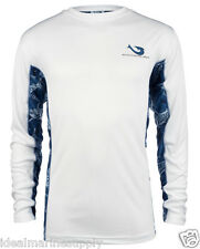 Mojo Marlin Vented Wireman Performance Fishing L/S T-Shirt. Many Colors New S-3X