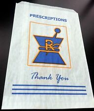 100 Medical Marijuana RX Medication PAPER BAGS & WARNING LABELS 420 Cannabis MMJ