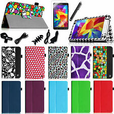 Folio Stand Case Wake/Sleep Cover for Samsung Galaxy Tab 4 8.0 8-inch Tablet