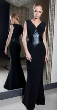 Long Elegant Ladies Wedding Ball Gown Party Evening Prom Maxi Dress  Size 8 - 18