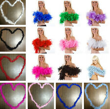 SHCA NW Feather Boa Fluffy Flower Craft Costume Dressup Wedding Party Home Decor