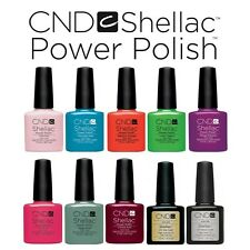 CND Shellac Power Polish Nagellack - UV Gel - (Farben A - M)