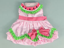 Dog Dress Clothing for Dogs Teddy Poodle Yorkshire Pup Wedding Dress Pet Skirt