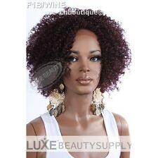 Afro Kinky Curl Beshe Synthetic Lace Front  Wig Drew + Hot Colors! FAST Shipping