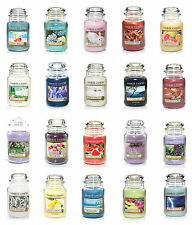 YANKEE CANDLE 22 OZ JARS - LOT OF 2- ONLY $22.47 EACH - YOU CHOOSE - FREE SHIP