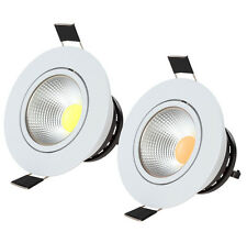 5W COB LED Recessed LED Fixture Ceiling Light for Home / Commercial Lighting