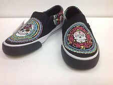Vision street wear day of the dead slip on multi colors
