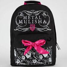 Metal Mulisha Backpack  Black/Pink/Red/White Cotton Backpack in 4 Styles-NWT
