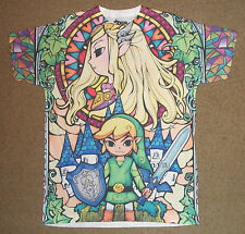 The Legend of Zelda Wind Waker Sublimation Shirt S-2XL Official Nintendo