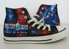 Doctor Who/converse/hand painted shoes/canvas shoes/men/women/kids/shoes