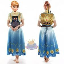 Custom Made Frozen Fever Anna Dress Costume Adult And Child Size Available