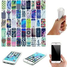For Apple iPhone 5S/5C/6 4.7 New Rubber Soft TPU Silicone Back Case Cover Skin