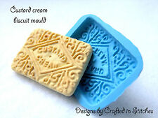 Biscotto cookie mold CUSTARD CREME silicone stampo Stampo PUSH MOLD