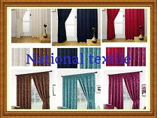 Milano Fully Lined Readymade Curtains Including Free Tiebacks - 6 Great Colours