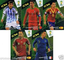 FIFA ADRENALYN WORLD CUP 2014 ICON EDITION NORDIC 2014 SINGLE CARD BRAZIL PICK