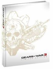 Gears of War 3 Limited Edition (2011, Hardcover) FACTORY SEALED